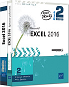 Excel 2016 Pack 2 libros